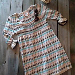 Chelsea & Violet sweater striped dress